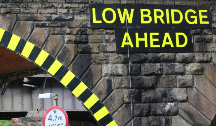Bridge Strike Warning