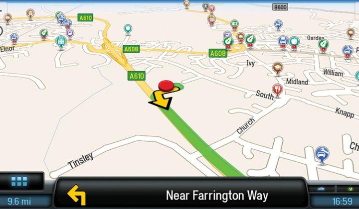Navigation GPS assistée